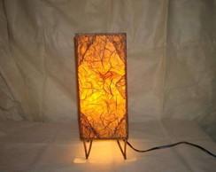 lumin�ria de mesa