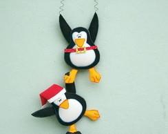 """Guirlanda de Natal """"Pinguim """"Noel"""""""