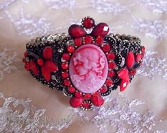 Bracelete Vitoriano Cherry- �ltima Off
