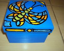 Caixa Borboleta Mosaico