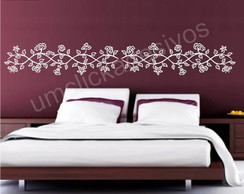 Adesivo de parede floral 3