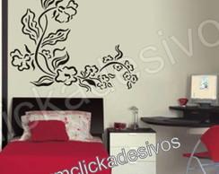 Adesivo de parede floral 2 - 55x60cm
