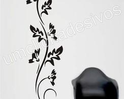 Adesivo de parede floral 10 - 100cm