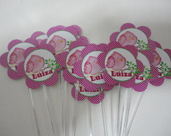 Topper - formato Flor