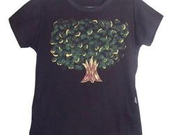 Camiseta Com Estampa de �rvore