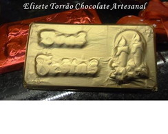 Placa de Chocolate - Boas Festas