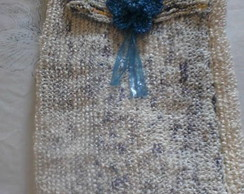 Eco Bolsa azul e branca