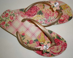 Slim Ouro Floral