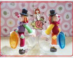 mini baleiro decorado tema circo