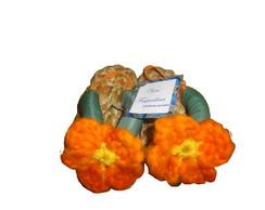 Sand�lia com flor de croch� n�18