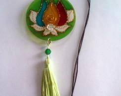 Amuleto Chama trina