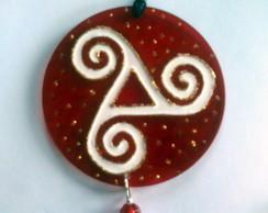 Amuleto celta triskle
