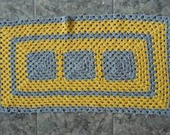 Tapete de Croch� - Amarelo