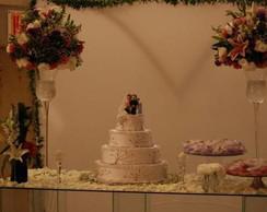 Topo para bolos de casamento...