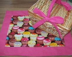 Cesta de Pic Nic Cupcakes