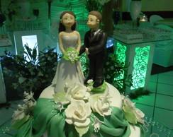 Topo de bolo - casal de noivos