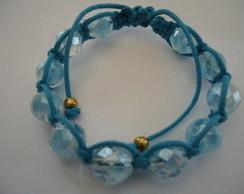 Shambala Cristal Azul Lustered
