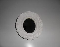 espelho pqno decora��o oval (vendido)