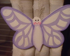 Amarrador cortina de borboleta