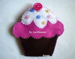 Agulheiro e Alfineteiro Cupcake
