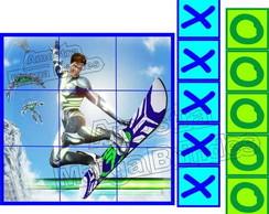 Max Steel jogo da velha