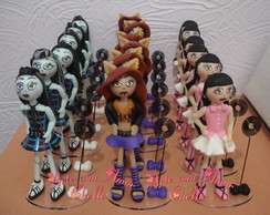 Monster High estilo magrelinhas