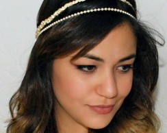 Headband PRINCESA CHAMPAGNE