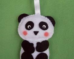 Urso Panda em feltro