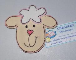 Lembrancinha de Nascimento ovelhinha