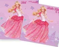 Barbie bailarina tag adesivo r�tulo �m�