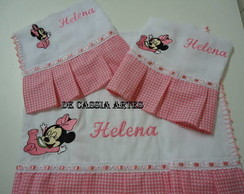 KIT FRALDA MINEY BABY HELENA
