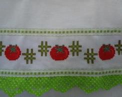 Pano de Copa - Tomates (verde)