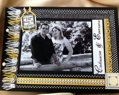 Livro de Mensagens para Casamento OURO