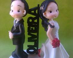 Sr e Sra noivinhos infantilizados