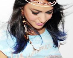 Headband PRINCESA marrom