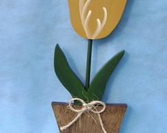 Flor no vaso - Tulipa - DF-09