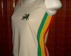 Camiseta Regata Reggae Artesanal NUDE