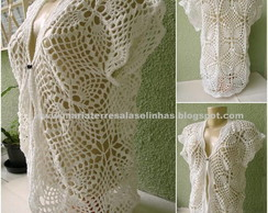 Colete Crochet - MT4284
