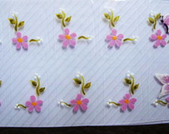Flores com borboleta Cod.039