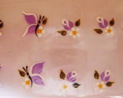 Bot�es com borboletas Cod.091