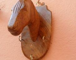 Cabe�a de Cavalo Pequena Porta Chave