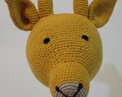 Girafa em Crochet