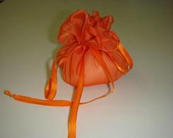 Saquinho multifuncional - laranja