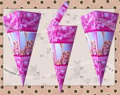 Cone Enrolados - Rapunzel