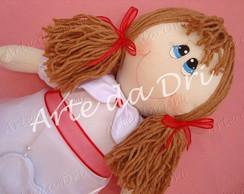 Boneca Daminha com Porta Alian�as