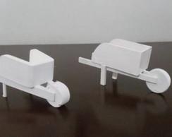 Miniaturas em mdf