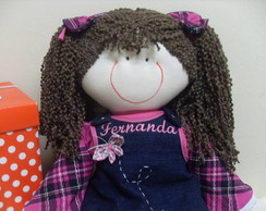 Boneca de pano Fernanda