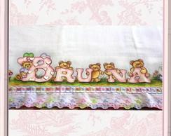 """Kit de Fraldas com Nome - """"Bruna"""""""