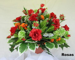 Arranjo de Flores - Rosas