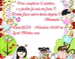 Convite fadinhas